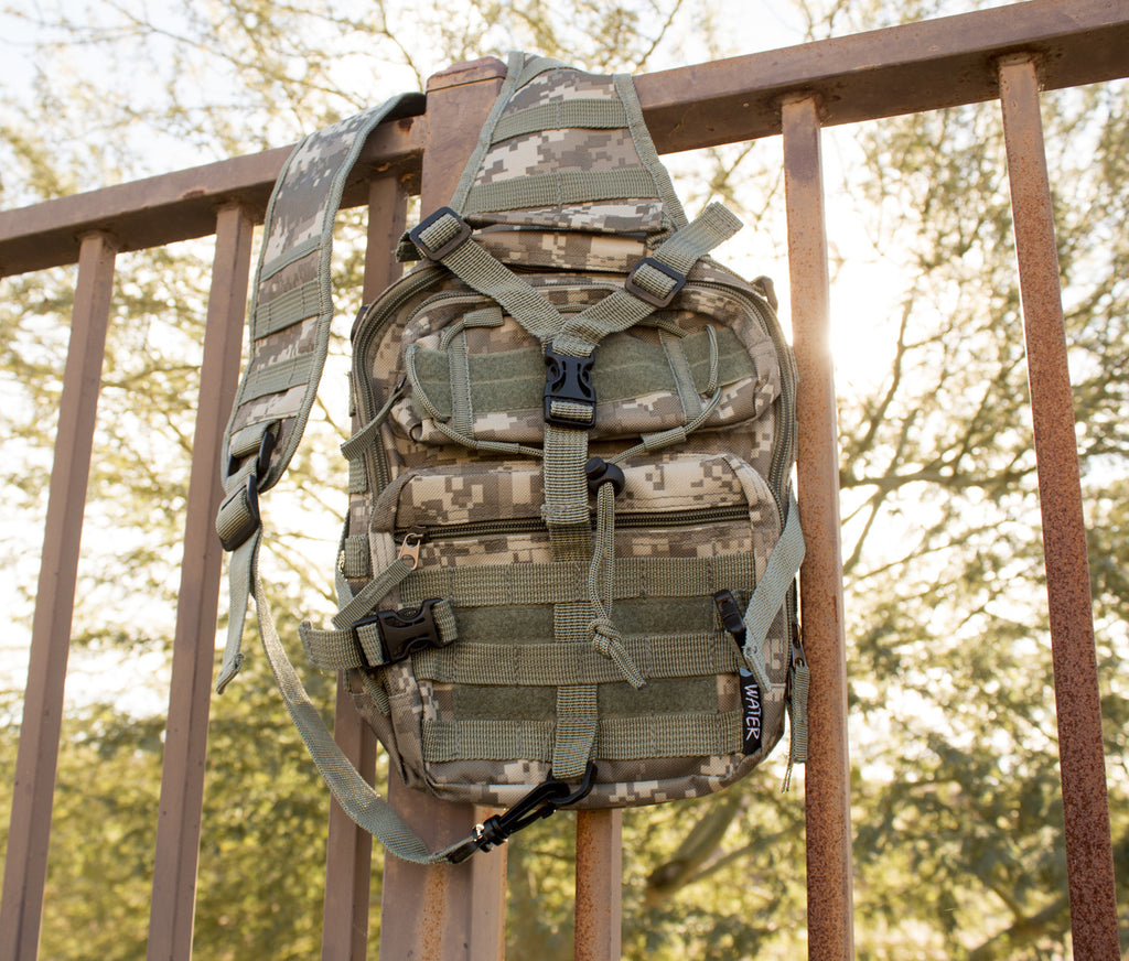 Tactical Military Sling Backpack in Digital Camo - Under Control Tactical - 2