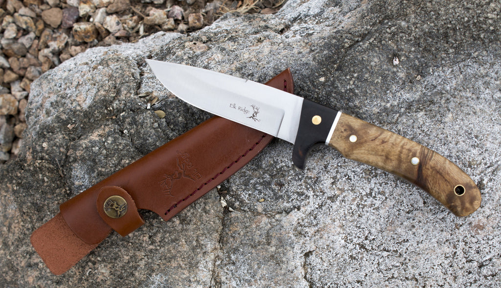 Best Fixed Blade Hunting Knife with Sheath - Perfect for Survival, Camping, & Everyday Carry! 100% Satisfaction Guaranteed! - Under Control Tactical - 7