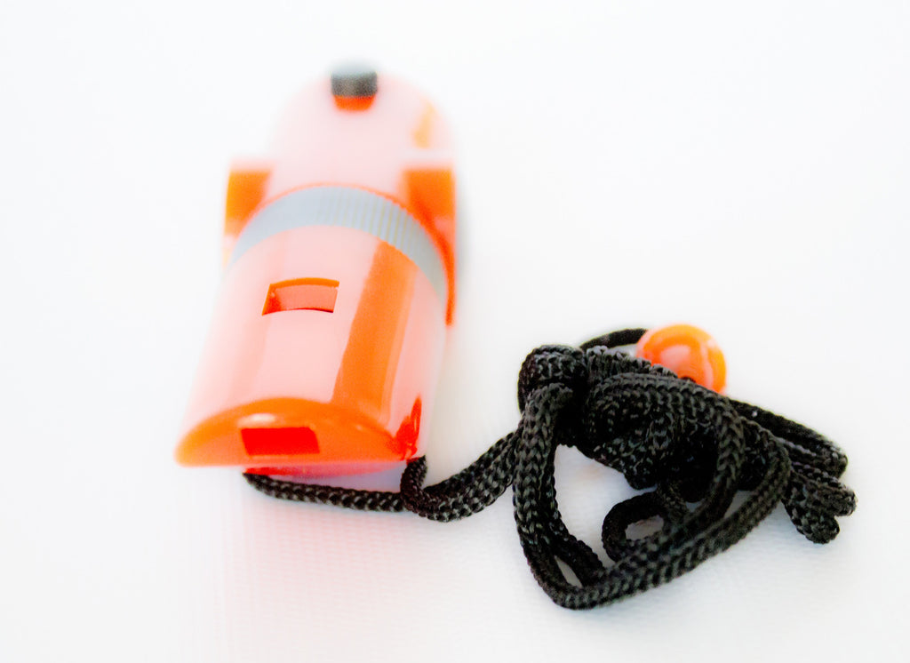 7-in-1 Orange Emergency Survival Tool with Whistle - Under Control Tactical - 7