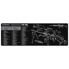 "FN-FAL Gun Cleaning Mat - 12"" x 36"" Oversized Workarea"