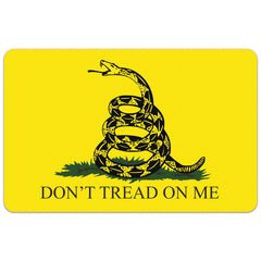 "Gadsden Flag - Don't Tread on Me - Gun Cleaning Mat - 11"" x 17"" Oversized Workarea"