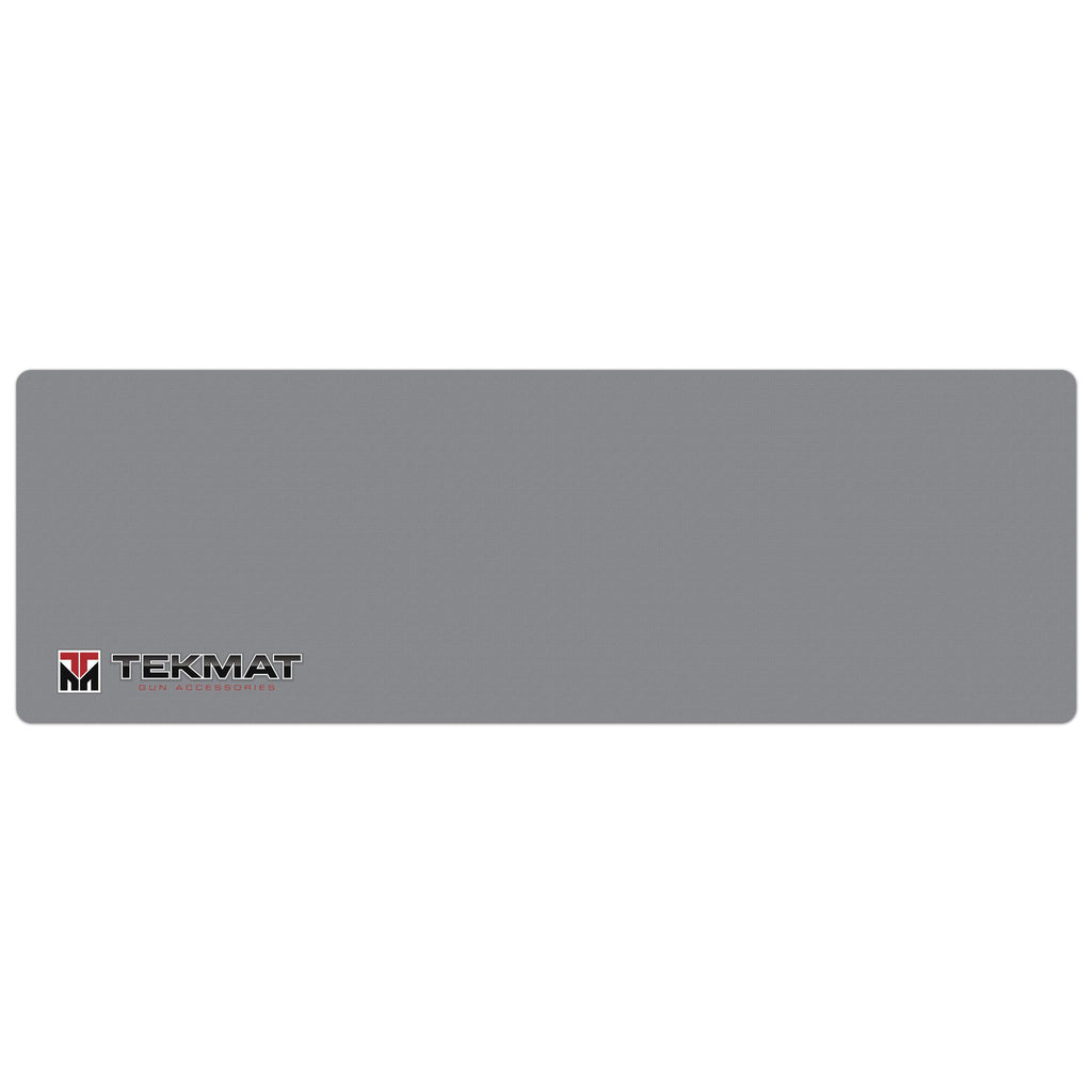 "Grey Rifle Mat Gun Cleaning Mat - 12"" x 36"" Oversized Workarea"