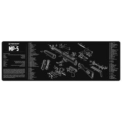 "Heckler & Koch MP5 Gun Cleaning Mat - 12"" x 36"" Oversized Workarea"