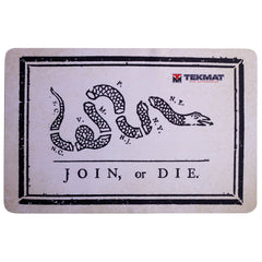 "Join, or Die Gun Cleaning Mat Gun Cleaning Mat - 11"" x 17"" Oversized Workarea"