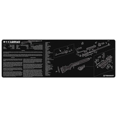 "M1 Carbine Gun Cleaning Mat - 12"" x 36"" Oversized Workarea"