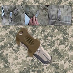 Small Outdoor Survival Tool & Knife for Molle Bags - Under Control Tactical - 7