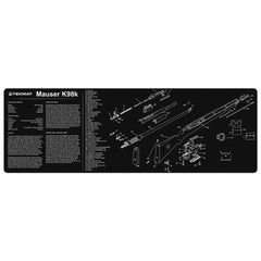 "Mauser K98 Gun Cleaning Mat - 12"" x 36"" Oversized Workarea"