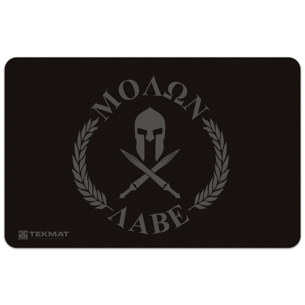 "Molon Labe ""Come and Take Them"" Gun Cleaning Mat - 11"" x 17"" Oversized Workarea"