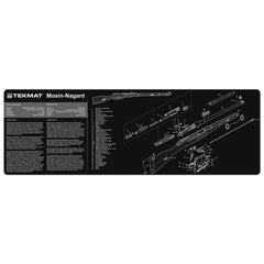 "Mosin Nagant Gun Cleaning Mat - 12"" x 36"" Oversized Workarea"