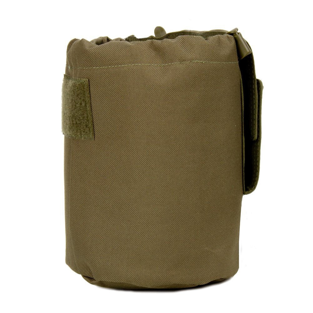 Large Collapsible Roll Up MOLLE Dump Pouch for Ammo, Brass, Magazines, Shells, and Misc Gear - Under Control Tactical - 12