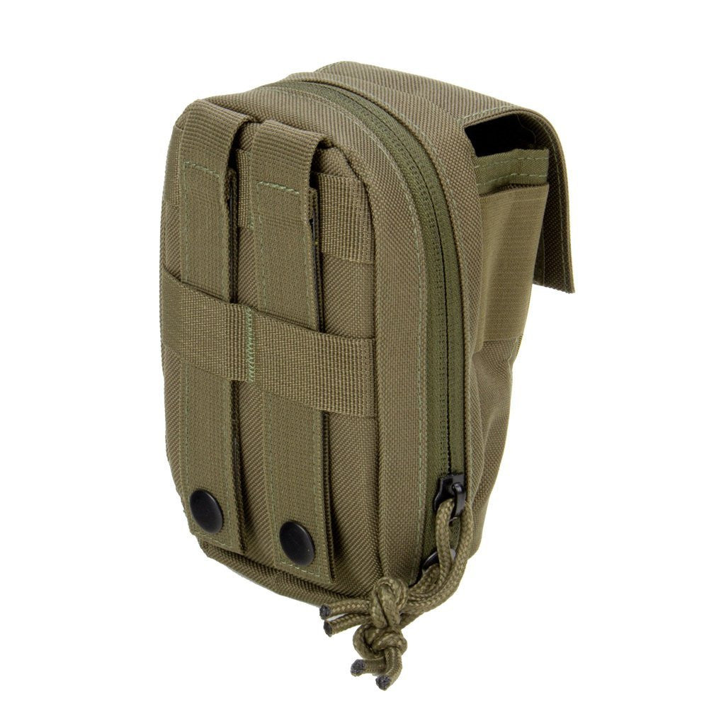 MOLLE Tech Pouch - Padded Multiple Pocket Media Pouch for Cameras, Phones, iPods and Other Electronics - Under Control Tactical - 7