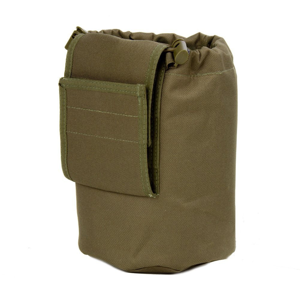 Large Collapsible Roll Up MOLLE Dump Pouch for Ammo, Brass, Magazines, Shells, and Misc Gear - Under Control Tactical - 10