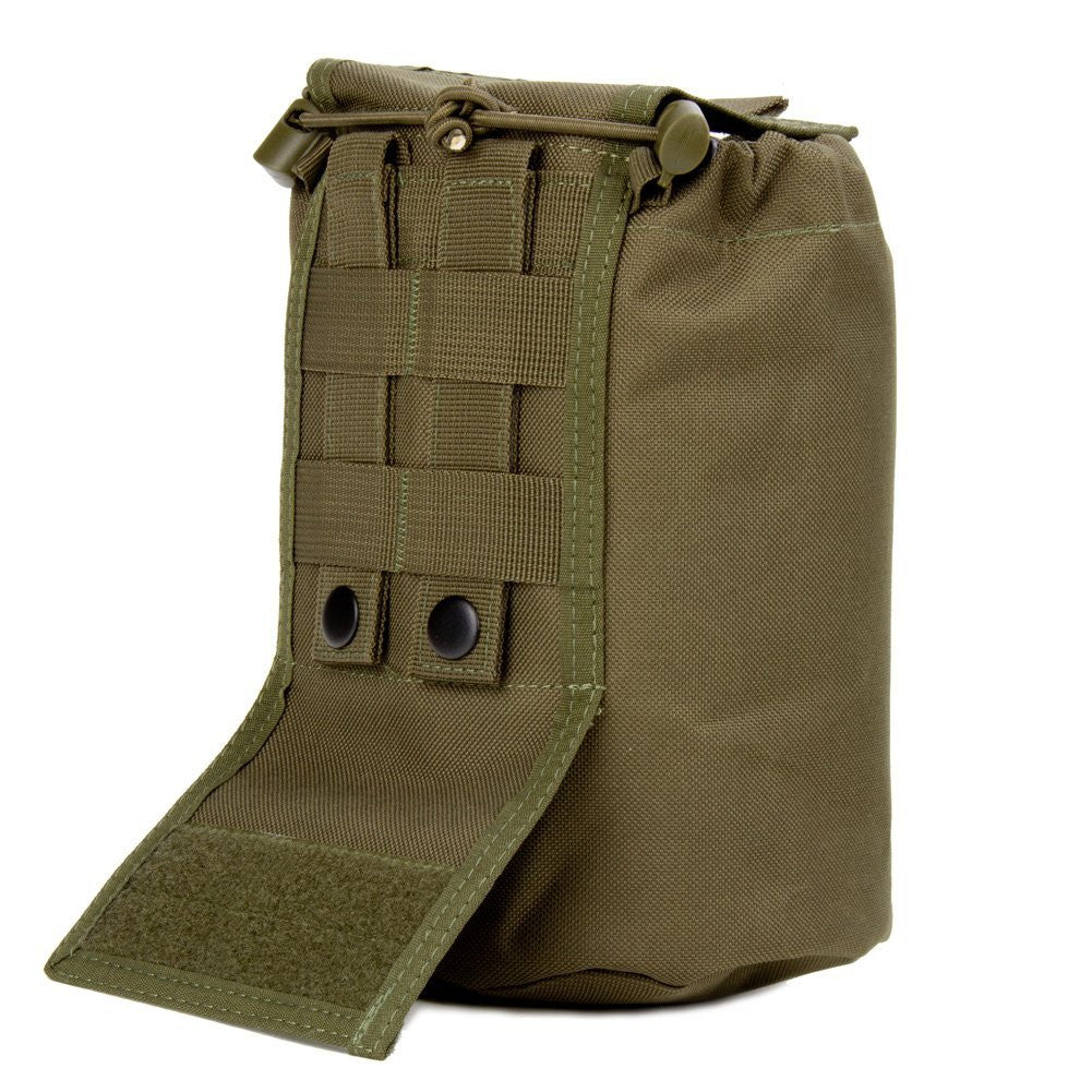 Large Collapsible Roll Up MOLLE Dump Pouch for Ammo, Brass, Magazines, Shells, and Misc Gear - Under Control Tactical - 11