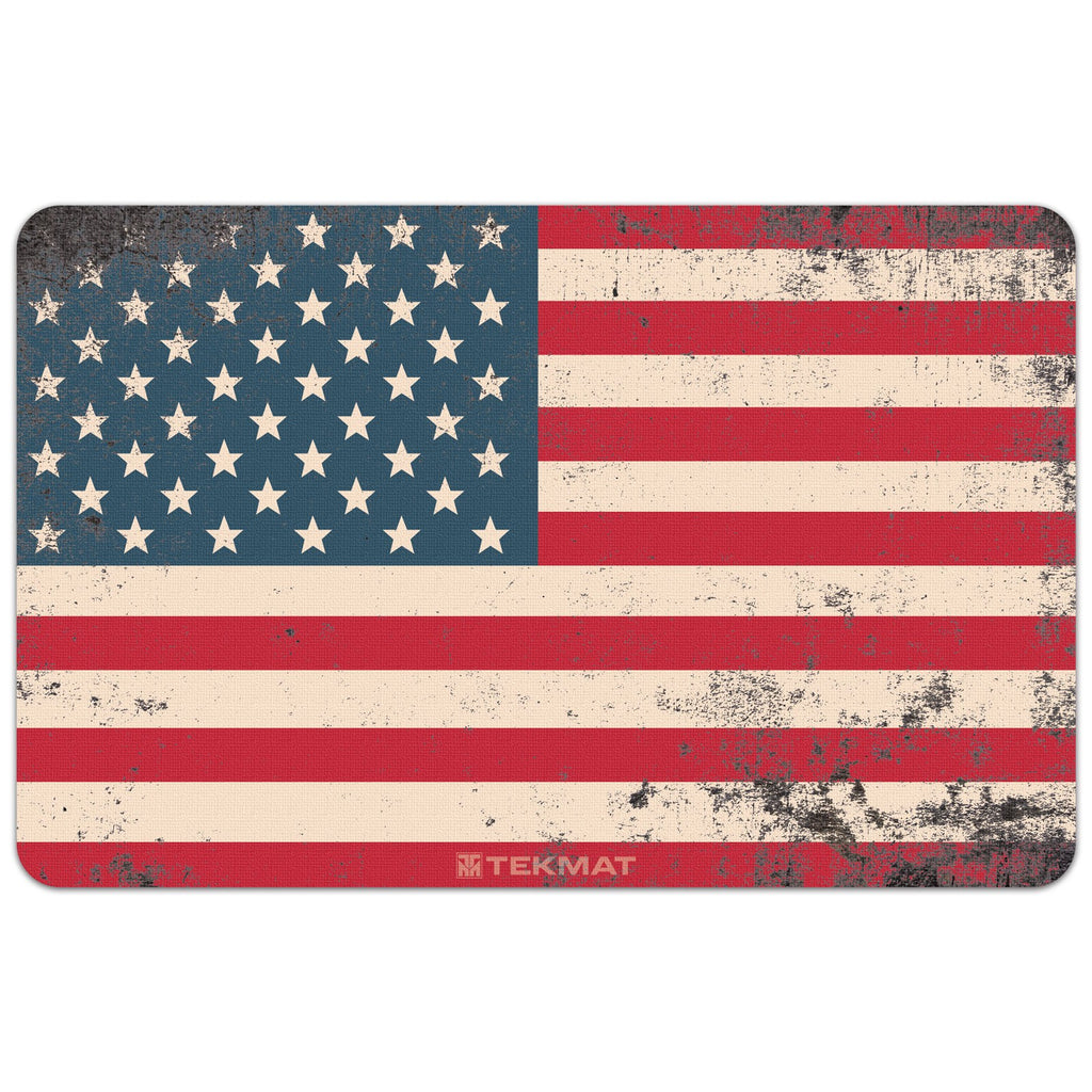 "Old Glory - American Flag Gun Cleaning Mat - 11"" x 17"" Oversized Workarea"