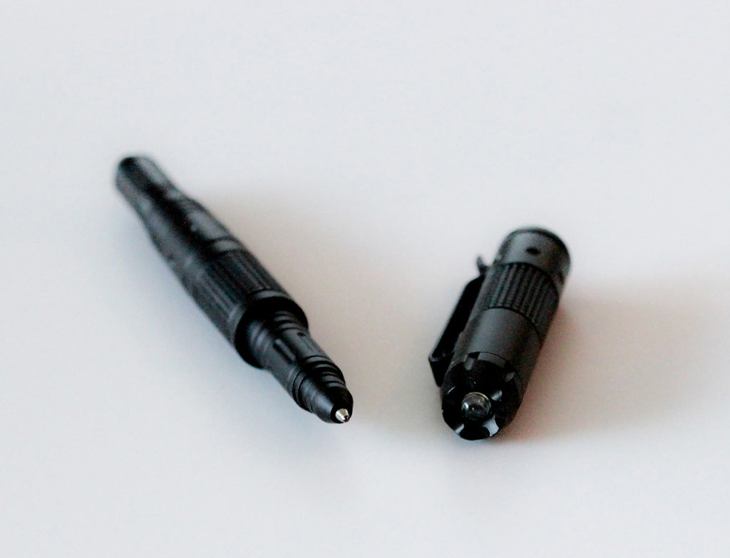 Best Tactical Pen for Self Defense Includes Bright LED Flashlight, Glass Breaker, & DNA Catcher - Under Control Tactical - 6
