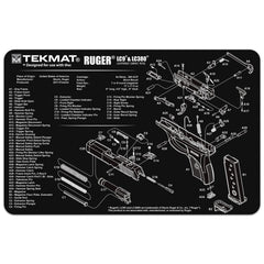 "Ruger® LC9® Gun Cleaning Mat - 11"" x 17"" Oversized Workarea"