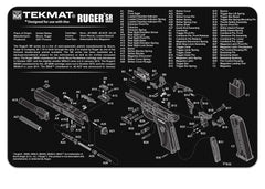 "Ruger® Mark III™ Gun Cleaning Mat - 11"" x 17"" Oversized Workarea"