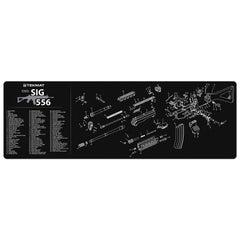 "Sig Sauer® 556 Gun Cleaning Mat - 12"" x 36"" Oversized Workarea"