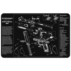 "Smith & Wesson® M&P® Gun Cleaning Mat - 11"" x 17"" Oversized Workarea"