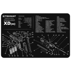 "Springfield Armory® XD(m)® Gun Cleaning Mat - 11"" x 17"" Oversized Workarea"
