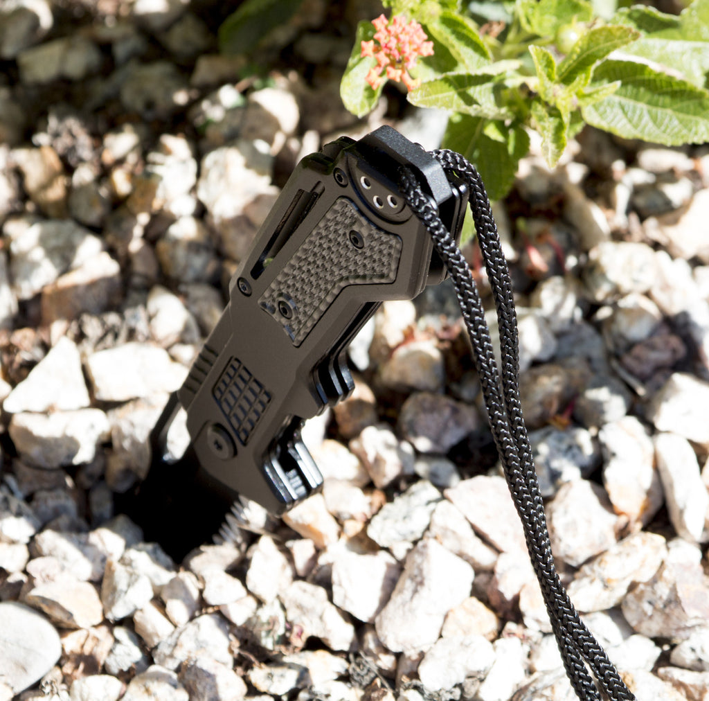 Black Spring Assisted Tactical Folding Pocket Knife - Under Control Tactical - 3