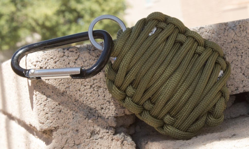Emergency Survival Kit in Paracord Grenade - Lightweight & Easy-to-Carry - Under Control Tactical - 6