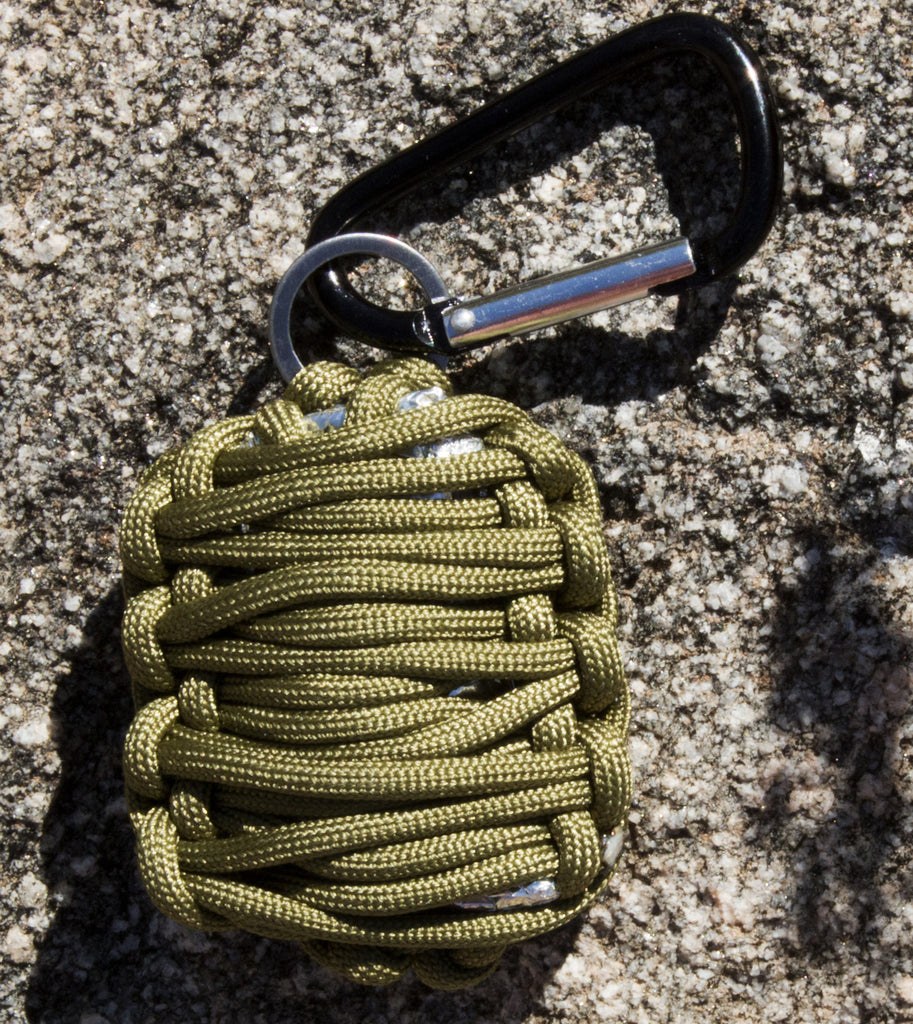 Emergency Survival Kit in Paracord Grenade - Lightweight & Easy-to-Carry - Under Control Tactical - 2