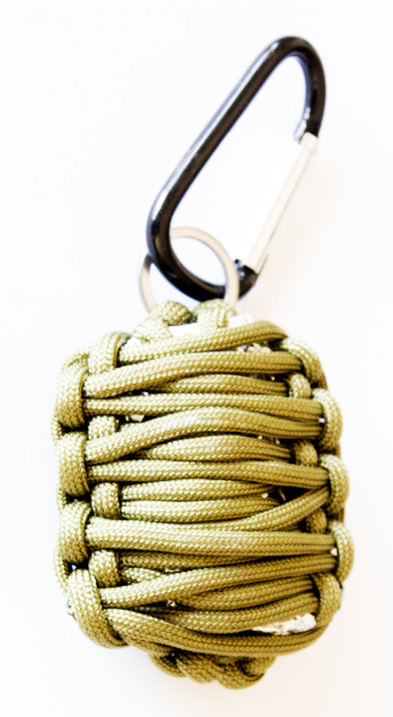 Emergency Survival Kit in Paracord Grenade - Lightweight & Easy-to-Carry - Under Control Tactical - 7