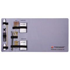 21-Piece Universal Handgun Cleaning Kit with Integrated TekMat Cleaning Mat