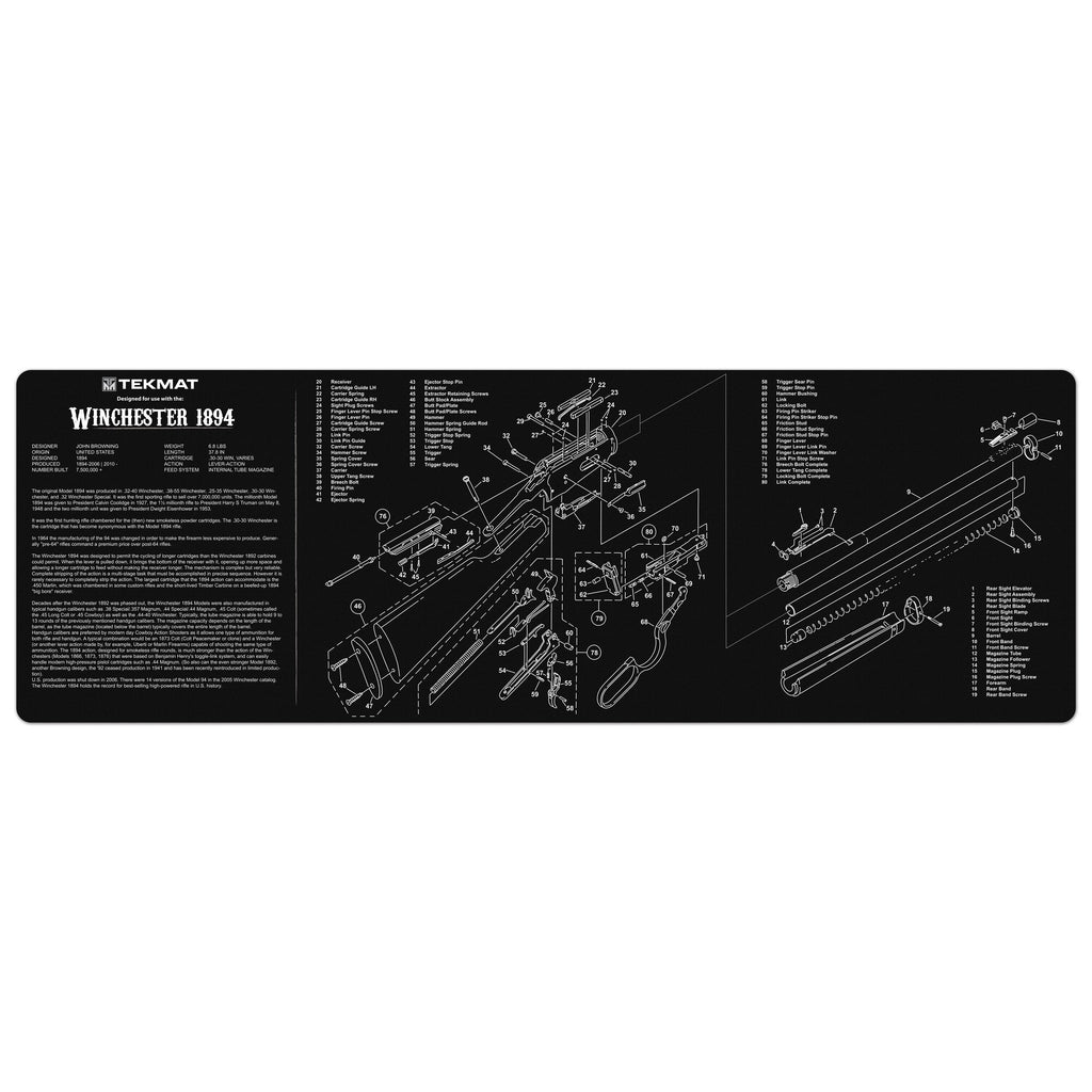 "Winchester® 1894 Gun Cleaning Mat - 12"" x 36"" Oversized Workarea"