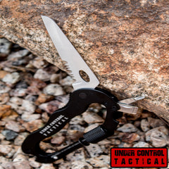 ULTIMATE Carabiner Survival Multi-Tool - Perfect for Camping & Outdoors - Under Control Tactical - 1