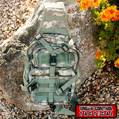 Tactical Military Sling Backpack in Digital Camo - Under Control Tactical - 1