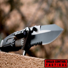 Pocket Knife with LED Light - #1 Rated for Hunting & Outdoors - Under Control Tactical - 1