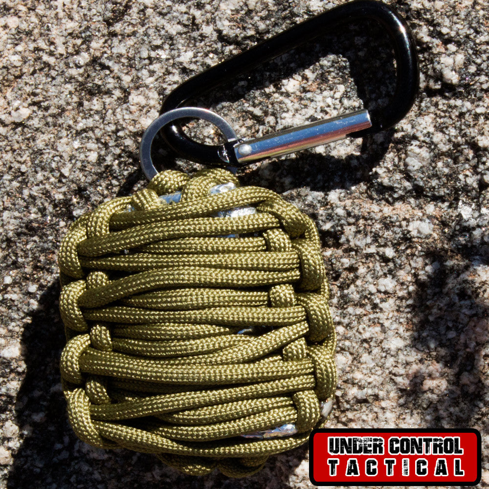 Emergency Survival Kit in Paracord Grenade - Lightweight & Easy-to-Carry - Under Control Tactical - 1