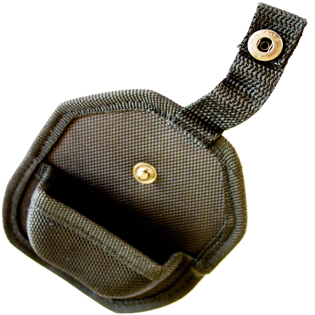 Black Handcuff Case With Secure Snap & Belt Loop - Universal Fit & Lightweight - Under Control Tactical - 6