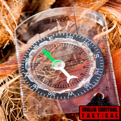 Best Scout Sighting Compass - #1 Rated for Navigation - Under Control Tactical - 1