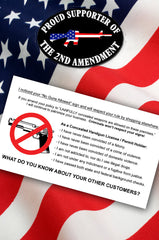 Concealed Carry Cards - Show Your Support of the 2nd Amendment! - Under Control Tactical - 1