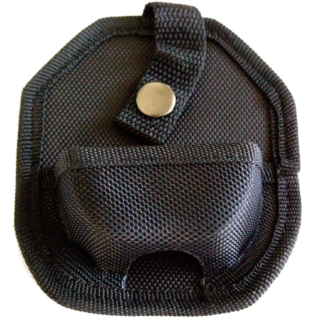 Black Handcuff Case With Secure Snap & Belt Loop - Universal Fit & Lightweight - Under Control Tactical - 2