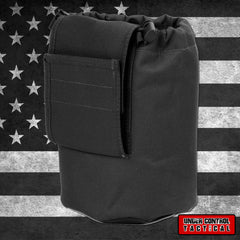 Large Collapsible Roll Up MOLLE Dump Pouch for Ammo, Brass, Magazines, Shells, and Misc Gear - Under Control Tactical - 1