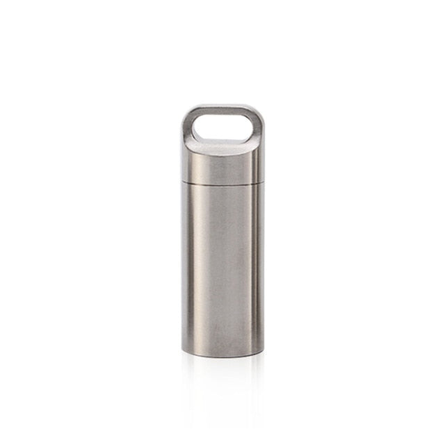 Mini Stainless Steel Waterproof Capsules for EDC