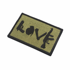 U.S Army Star Lot Style Rectangle Embroidery Flag Tactical Patch Applique