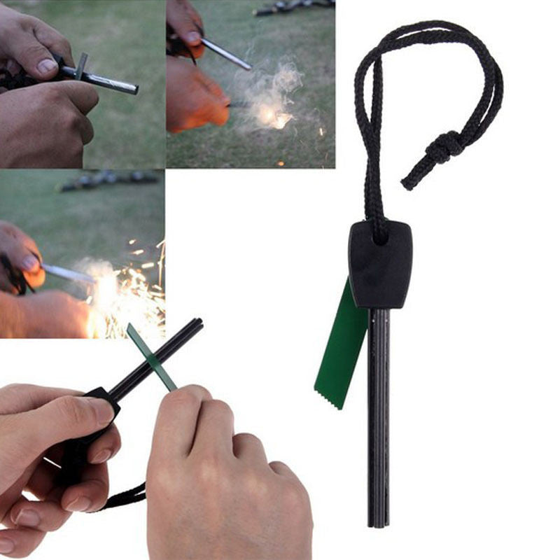 Portable Fire Starter with Flint Stone - Under Control Tactical - 6