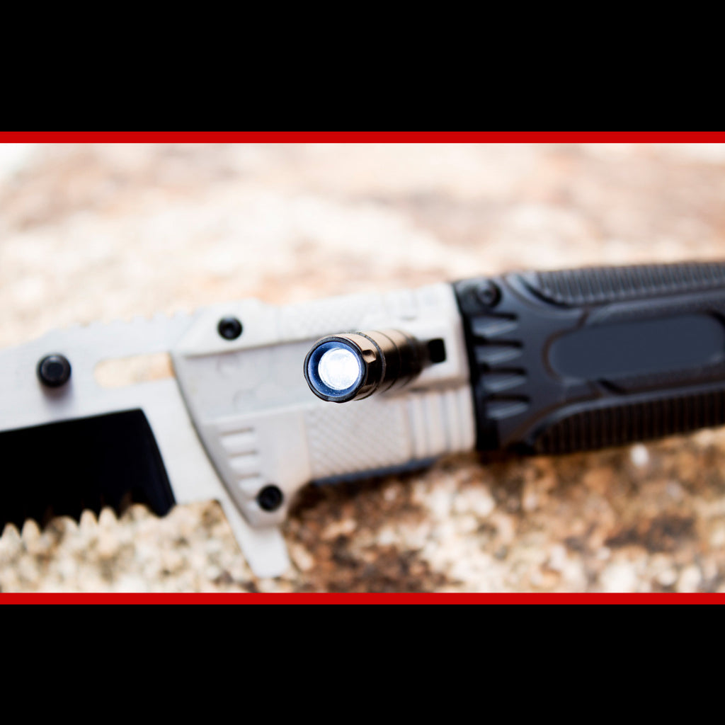 Pocket Knife with LED Light - #1 Rated for Hunting & Outdoors - Under Control Tactical - 6