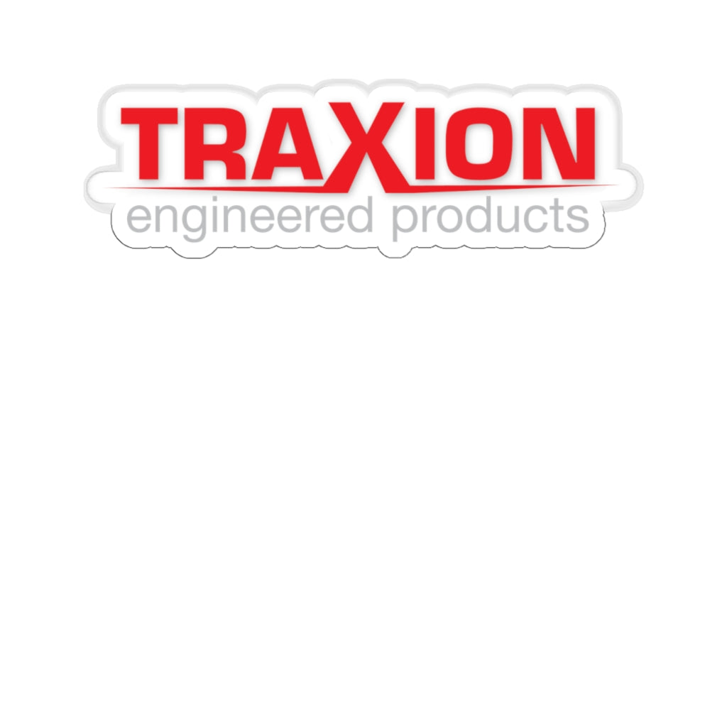 TraXion Sticker for Dark Background