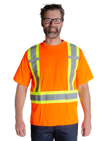 MWG Men's Hi Vis Short Sleeve T-Shirt - 10662R