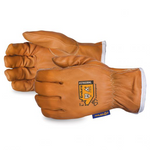 ENDURA Superior Glove  Kevlar®-Lined Oilbloc™ Goat-Grain Arc-Flash Driver Gloves - 378GOBKL