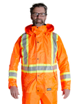 MWG Men's Hi Vis Rain Jacket - 80-202J