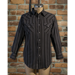 Men's Long Sleeve Poly Cotton Stripe • I30D01R-57