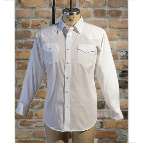 Men's Solid Colour Long Sleeve Shirt -I31C05-02