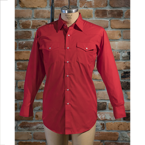 I31C05 - Men's Solid Colour Long Sleeve Shirt